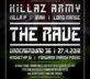 THE RAVE – KILLAZ ARMY, SMACK, FORWARD MARCH POSSE, ARCHETYP 51