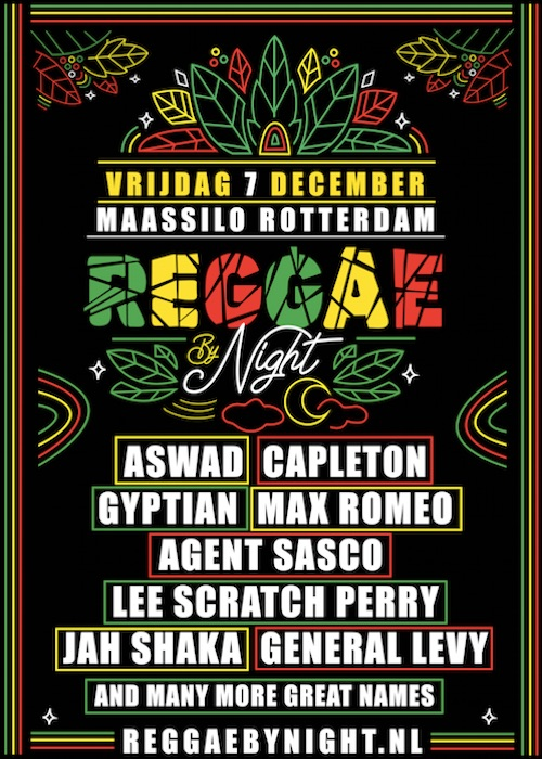 REGGAE BY NIGHT 2018
