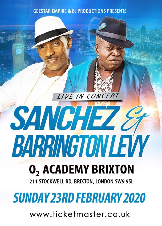 SANCHEZ & BARRINGTON LEVY LIVE
