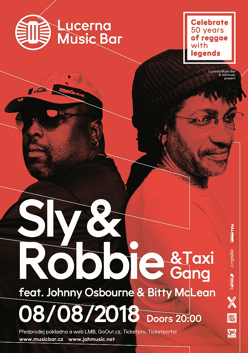 SLY & ROBBIE + TAXI GANG FEAT. JOHNNY OSBOURNE & BITTY MCLEAN!